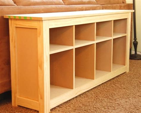 How To Build A Sofa Table How To Build An Ikea Hemnes Style Table I
