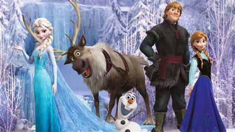 Full HD Wallpaper frozen elsa of arendelle dress deer