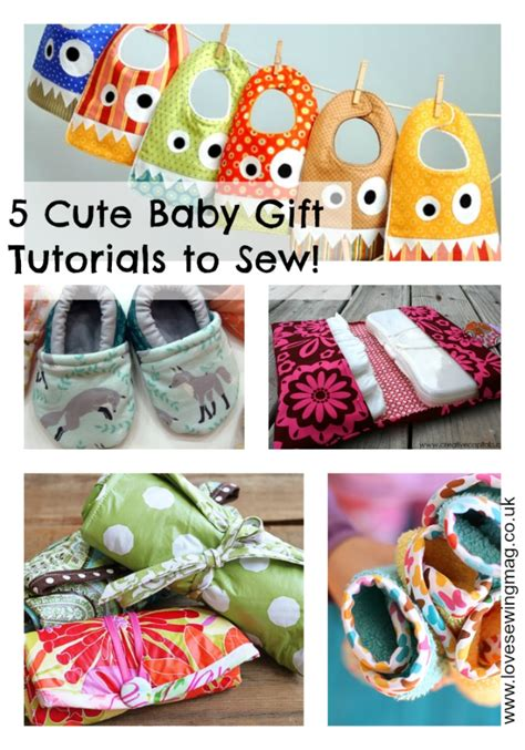 Baby Shower Gifts To Sew by 187 5 Baby Gifts To Sew Free Tutorials