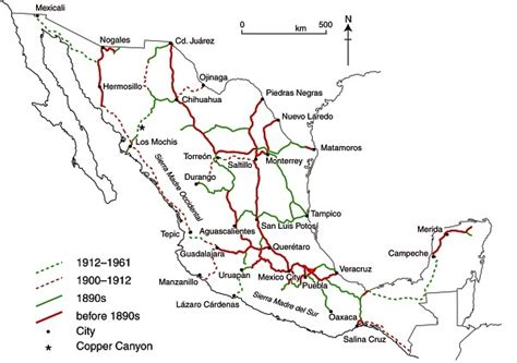 railway system map of mexico railway system map of mexico railway system map of