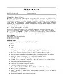 Resume Summary Of Qualifications Exle by Summary Of Qualifications On Resume Free Resume Templates