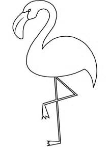 flamingos coloring pages to