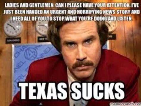 Texas Meme - texas sucks for the love of sooners pinterest