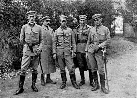 lade lamberger soldaten und offiziere der mittelm 228 chte polnische legion