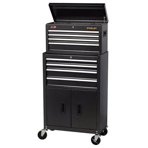 27 in w 7 tool stanley 24 in w 8 tool chest and combo