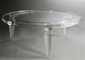 Clear Plastic Coffee Table Clear Acrylic Coffee Table Voqalmedia