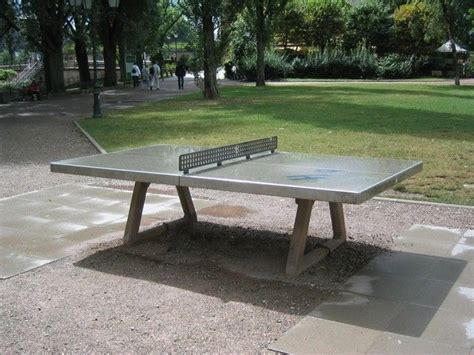 Concrete Table Tennis by Concrete Ping Pong Table For Outdoors I Cant Help It I