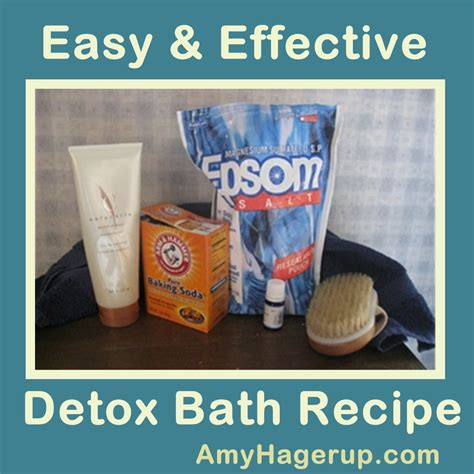 bathtub detox body detox the ultra detox bath recipe