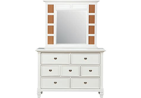 Dresser Set Belmar White Dresser Mirror Set Dresser Mirror Sets