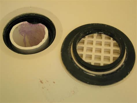 Shower Drain Seal by How Do I Repair A Leaking Shower Drain