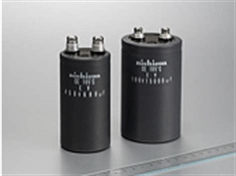selecting and applying aluminum electrolytic capacitors for inverter applications nichicon corporation pr inverter smoothing capacitors for electric and hybrid vehicles