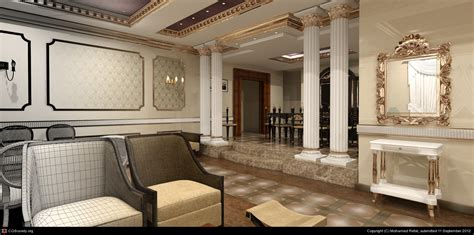 classic interior design classic interior design by mohamed refat 3d cgsociety