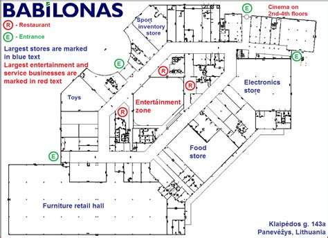 Floor Plan Of Shopping Mall by File Shopping Mall Babilonas Layout Png Wikipedia