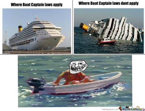 Yacht Meme - boat captain rules by jacob mcrae meme center