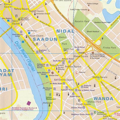 map of baghdad baghdad city center map baghdad iraq mappery