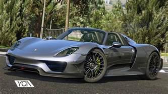 Porsche 911 Spyder 2015 Porsche 918 Spyder Weissach Kit Add On Wipers