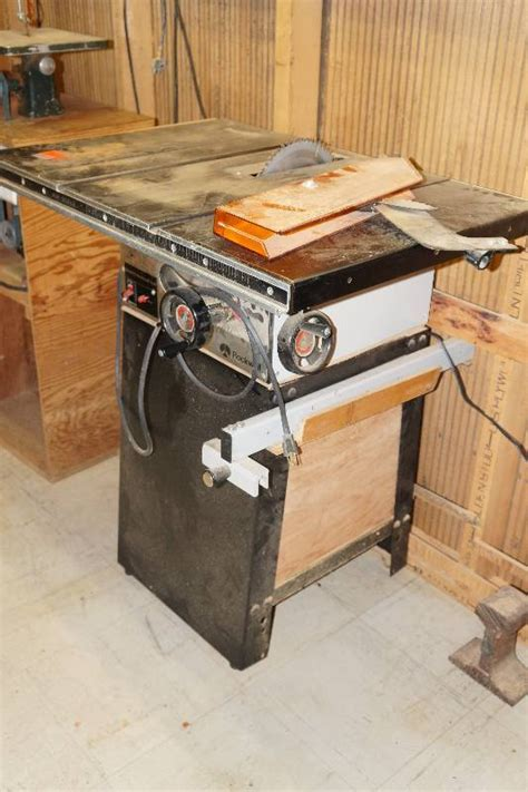 rockwell model 9 table saw rockwell int l model 9 homecraft table saw with metal