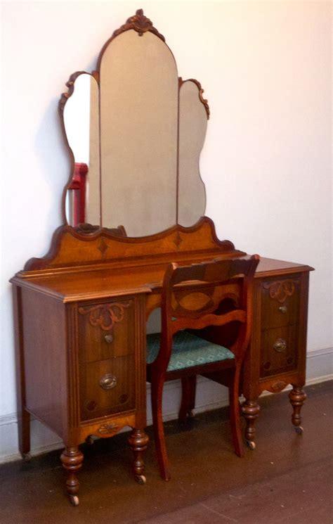 antique wood vanity chair antique oak vanity chair creative vanity decoration