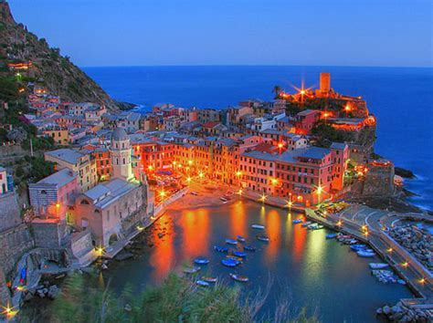Vacation Home Design Trends by Italy Travel Photo Vernazza By Night Italy Travel