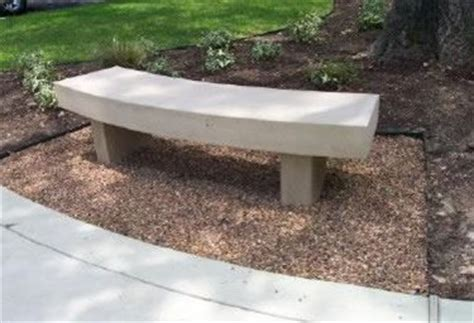 outdoor concrete furniture the concrete network
