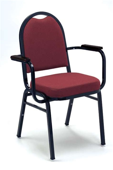 kfi seating  series padded stack chair  arms vinyl   padded stack chairs