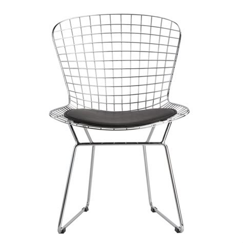 Wire Dining Chair Wire Dining Side Chair Modern In Designs
