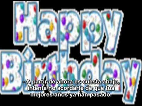 imagenes feliz cumpleaños gracioso gracioso feliz cumplea 241 os quot grosero quot subtitulos en espa 241 ol