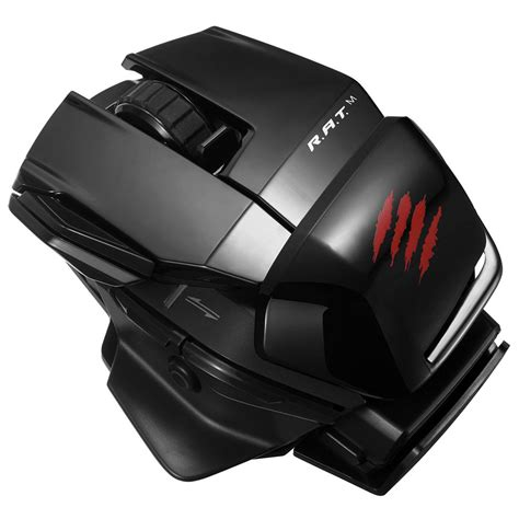 Pc Mad Catz Freqm Wired Gloss Black mad catz office r a t m rat m gloss black souris pc mad catz sur ldlc