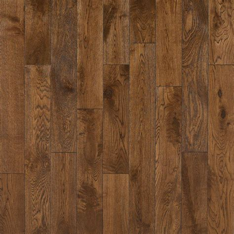 Hardwood Floor Planks Nuvelle Oak Cognac 5 8 In Thick X 4 3 4 In Wide X Varying Length Click Solid Hardwood
