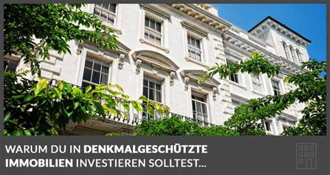Immobilie Als Kapitalanlage Sinnvoll 4136 by Sind Denkmalgesch 252 Tzte Immobilien Als Kapitalanlage