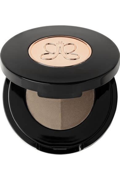Beverly Brow Powder Duo In Medium Brown beverly brow powder duo medium ash medium brown net a porter