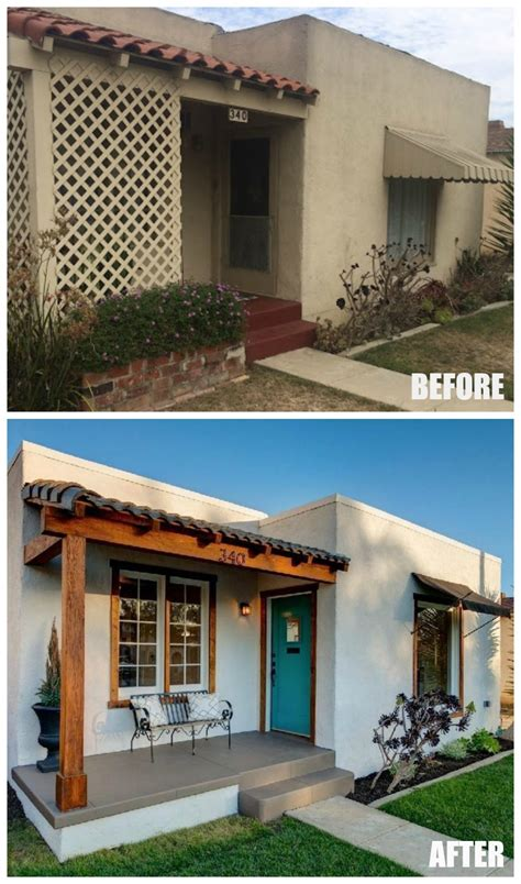 beach house renovations before and after before and after a sweet spanish bungalow by the beach