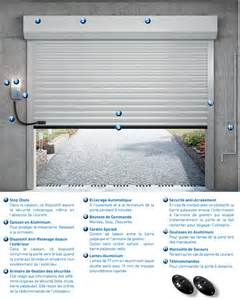 porte de garage enroulable porte enroulable motoris 233 e