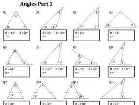 worksheets angles of a triangle worksheet chicochino