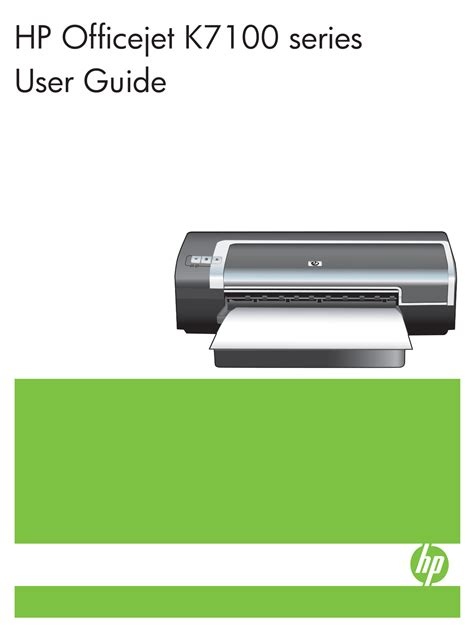 resetter printer hp k7100 download free pdf for hp officejet k7100 printer manual