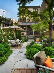 Small Garden Patio Ideas This Small Back Yard Looks Like A Quaint City Park Narrow Space Broken Up By Different Rooms