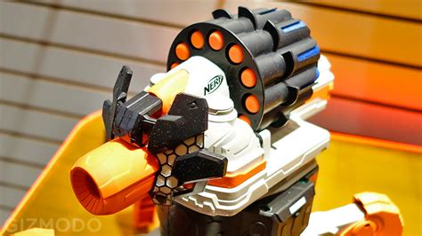 nerf remote control tank remote control nerf firing robots are the answer to every