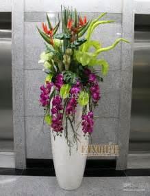 large floor vase fashion set flower decoration flower pu