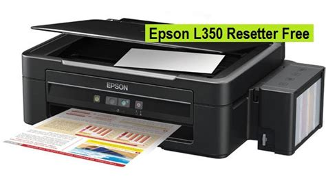resetter printer epson l350 reset epson l350 service required all lights blinking