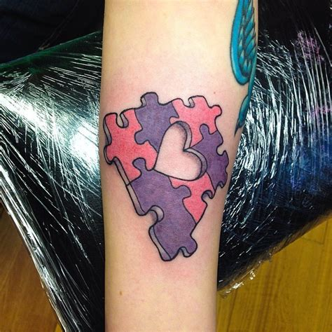missing piece tattoo 28 puzzle tattoos