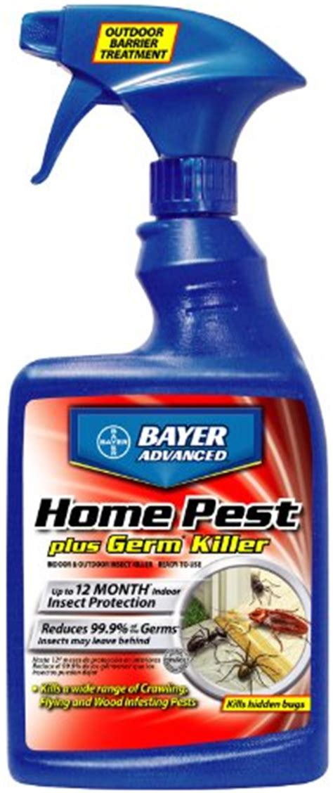 bayer advanced 700460 home pest plus germ killer indoor