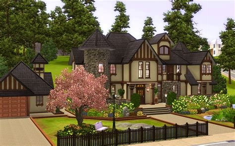 modern tudor homes home design mod the sims alcester house modern mock tudor 3