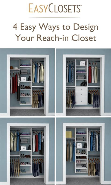 How To Make Room In A Small Closet by Best 25 Small Closet Design Ideas On Small Closet Storage Organizing Small Closets