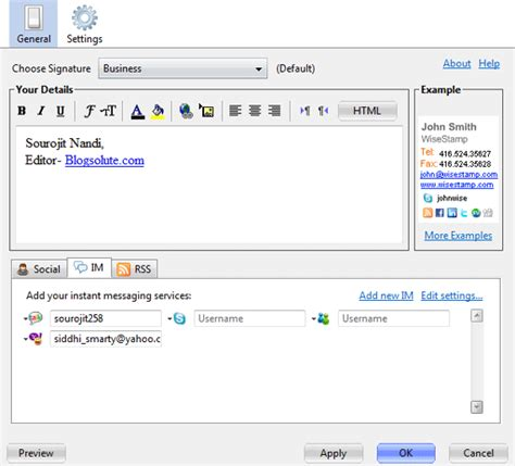 design html email for gmail create html email signatures in gmail with wisest