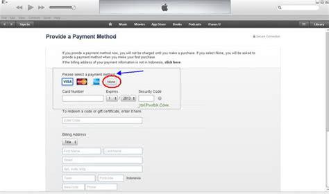 cara membuat apple id none cara membuat apple id melalui itunes jeripurba com