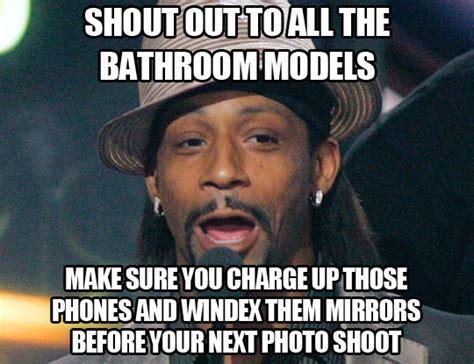 Bathroom Selfie Meme - to all the bathroom mirror models the meta picture