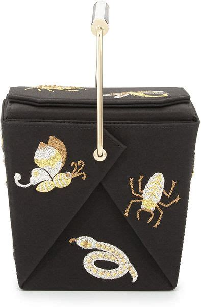 Take Away Box Bag From Os by Olympia Take Me Away Box Clutch Bag Black In