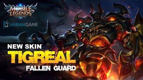update skin terbaru tigreal mobile legends hariangame
