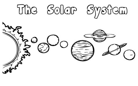 Solar System Coloring Pages For Kids Az Coloring Pages Coloring Pages Of Solar System