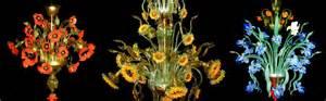 Glass Flower Vases Lustre Murano Lustre Venitien Lampe En Verre Murano